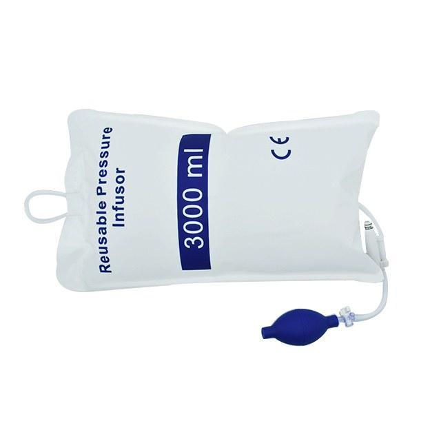 Medical Reusable Blood Pressure Infusion Bag 3000ML