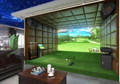 室内高尔夫模拟器设备厂家正版高清球场软件系统选择免费定制方案