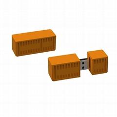 USB Stick Custom 3D PVC Flash Memory Stick Brain Shape Usb Flash Drive