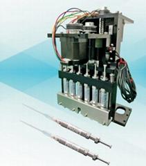 Multi-way piston type stainless steel syringe module for CLIA analyzer