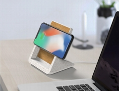 Desktop 2 in1 Wireless Charger & Phone Holder