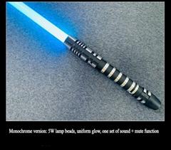 STARWAR lightsaber metal sword Darth Maul RGB model high quality Cosplay