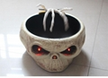 Halloween Induction control ghost hand sugar bowl electric toy skeleton LED  1