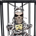 Halloween decorations cage ghost