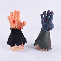Halloween decorative props walking hand toys gifts haunted house secret room