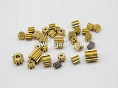 东莞齿轮厂家定做直斜铜齿轮蜗轮蜗杆加工