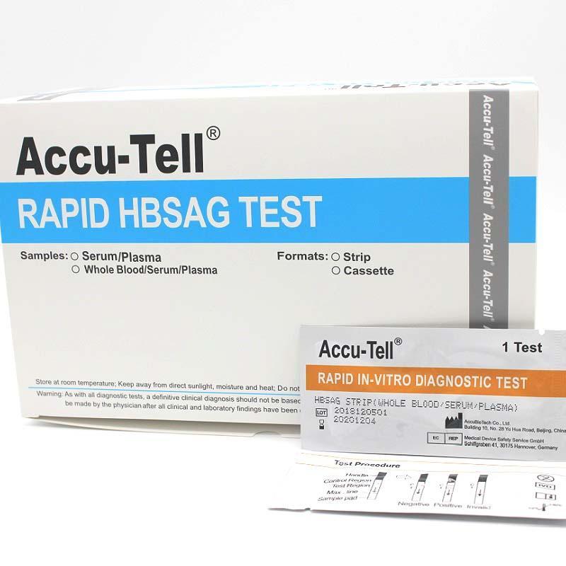 Accu Tell Hbsag Rapid Test Cassette