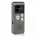 Hot Sale 8GB Audio Activated Recording Handheld Voice Recorder 2