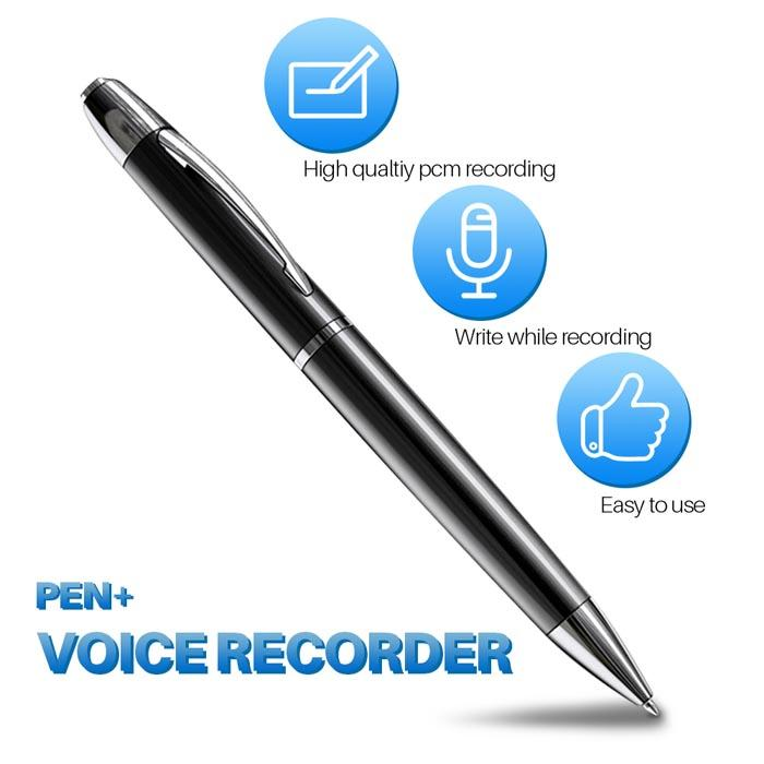 16GB Handheld Hidden Pen Digital Voice Recorder With MP3 Playing 1