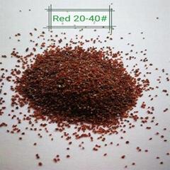 Sandblasting garnet sand 20/40 mesh