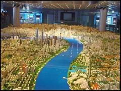合肥城市规划沙盘模型制作