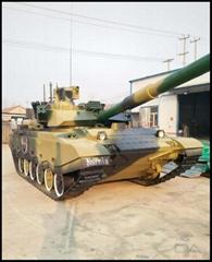1:1坦克模型制作