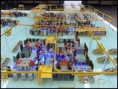 生产线模型制作