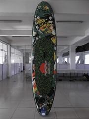 高品质拉丝料冲浪板站立式桨板海上冲浪竞赛板