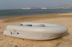 厂家直销新款双气囊充气钓鱼船