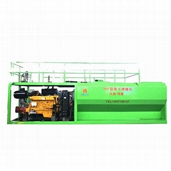 高陡边坡绿化机械式喷播机 矿山绿化专用客土喷播机恒睿机械直销