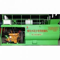 植生水泥土客土噴播機植被混凝土噴播用噴播機恆睿機械研發生產
