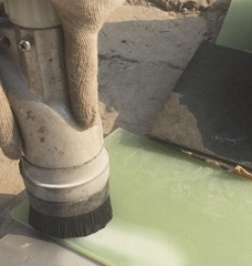 便攜環保無塵噴砂設備