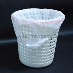 Hdpe/ldpe Star-sealed Bag with Handle