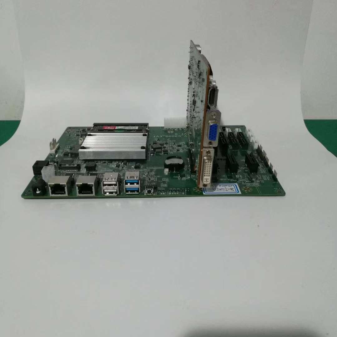 Intel Denverton C3000 Motertherboard ,NAS/IPFS supported  1