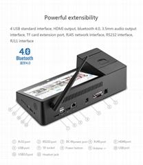Atom Z8350/Z3735F 安卓8.9寸平板桌面电脑带热敏打印机点菜机