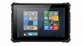 X4 10.1 inches 4G 64G R   ed Windows Tablet IP67  2