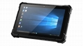 X4 10.1 inches 4G 64G R   ed Windows Tablet IP67  1