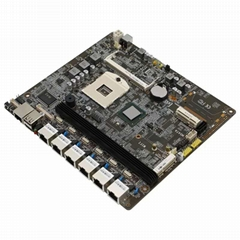 廠家直銷Intel 989多網口i3 i5 I7軟路由防火牆