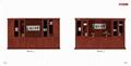胡桃 红棕色书柜