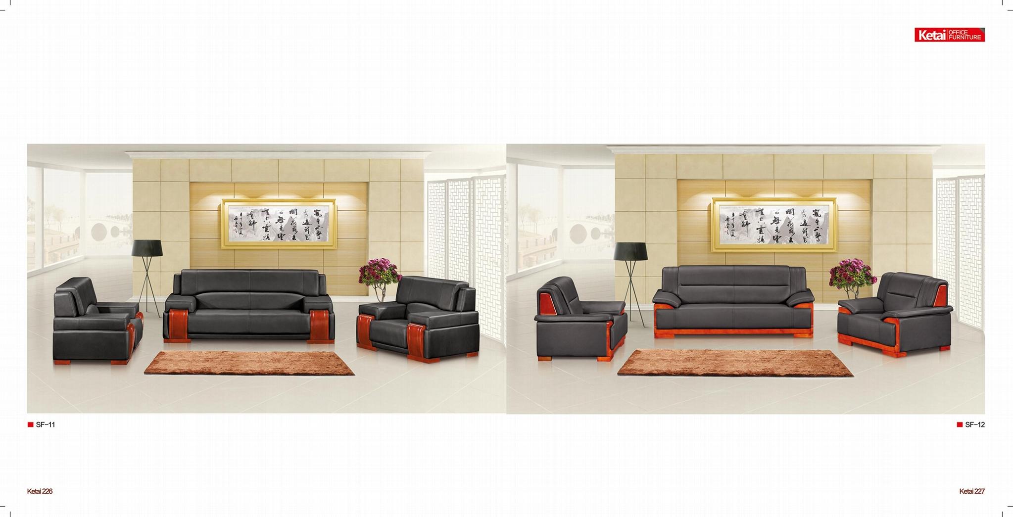 深圳牛皮沙发 2