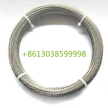 White pure stranded tungsten wire for glass vacuum coating 1