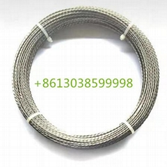 White pure stranded tungsten wire for glass vacuum coating