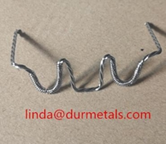 multi strands tungsten wire with 99.95% purity for vacuum metalization