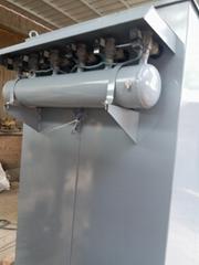 料倉頂部的大型倉頂除塵器
