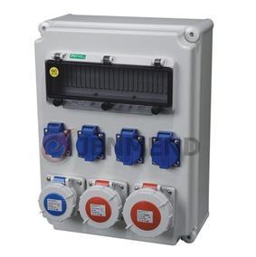 歐標插座箱檢修箱 2