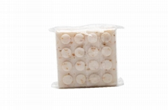 OEM customize round pleated paper wraps disposable bath soap