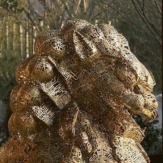 不锈钢雕塑 4