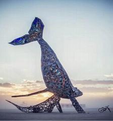不鏽鋼景觀雕塑