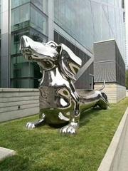 不鏽鋼動物雕塑
