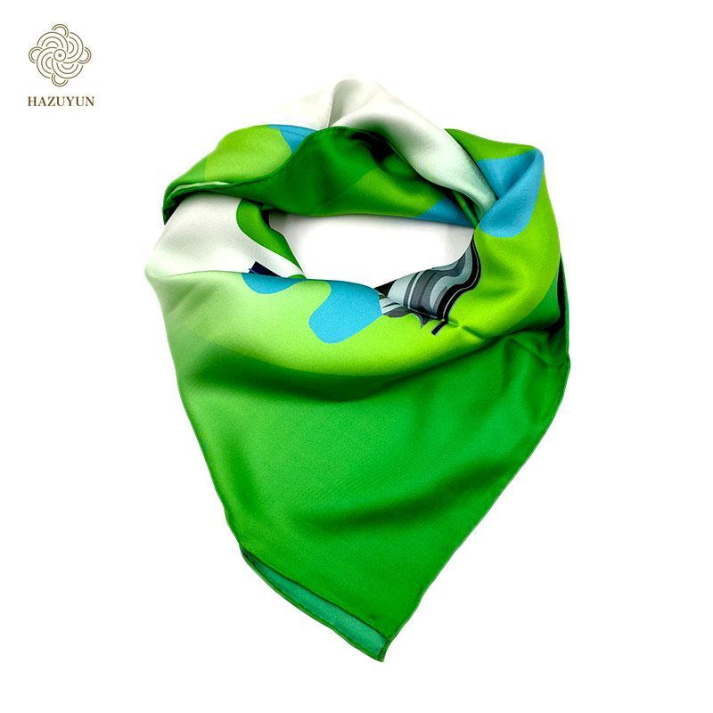 現貨定製印花真絲圍巾 5