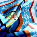 定製時尚優雅真絲圍巾 2