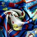 定製時尚優雅真絲圍巾 5
