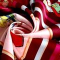 定製真絲印花圍巾 2