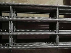 Trench mesh reinforcement for footing slab construction and Waffle rafts beam an