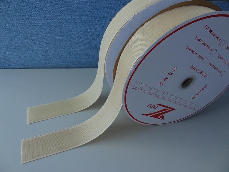 耐热260度防火阻燃PPS魔术贴粘扣带魔鬼贴搭扣用于高温捆绑带 1