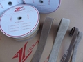 鍍銀纖維導電鉤毛魔朮貼粘扣帶搭扣用於防電子信息洩露 4
