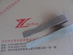 鍍銀纖維導電魔朮貼魔鬼貼粘扣帶搭扣用於抗電磁輻射