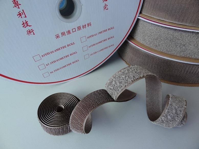 镀银纤维导电魔术贴魔鬼贴粘扣带搭扣紧固带用于防静电用品 2