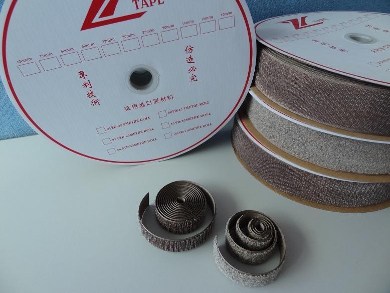 镀银纤维导电魔术贴魔鬼贴粘扣带搭扣紧固带用于防静电用品 5