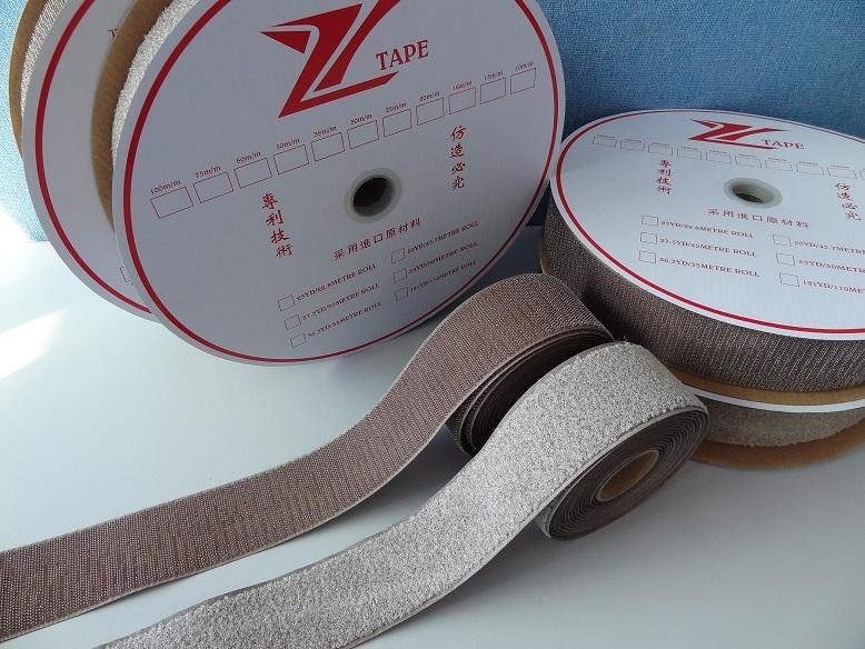 镀银纤维导电钩毛魔术贴魔鬼贴粘扣带搭扣用于导电用品 4
